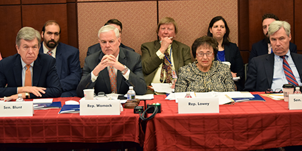 Joint Select Committee on Budget Reform: Bipartisan ...