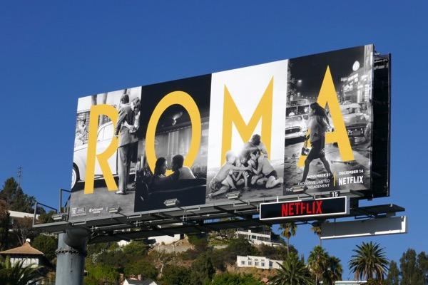 roma film billboard - Pursuit